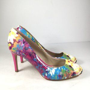 Marc Fisher Multicolor Round Toe Pumps Size 8.5